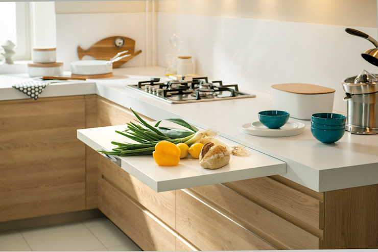 NEW! 2015 Kitchen: PORTLAND + ARCOS Schmidt Palmers Green Cucina in stile scandinavo