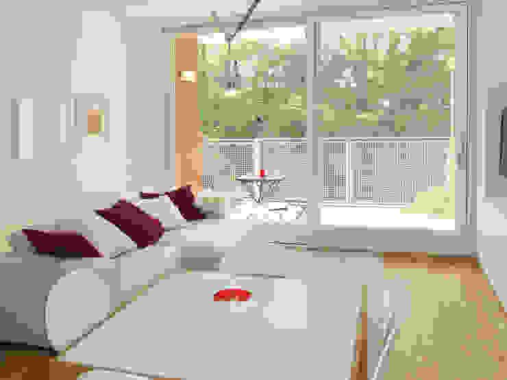 Appartamento a Segrate Soggiorno minimalista di bdastudio Minimalista