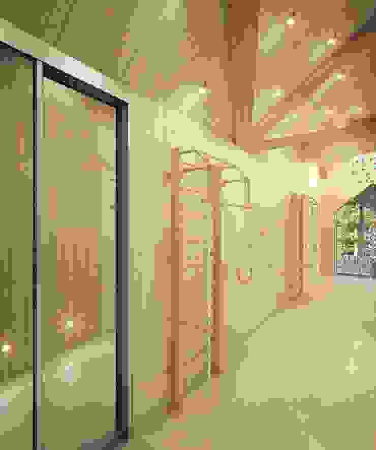 Dapur Gaya Country Oleh Студия дизайна интерьера 'Золотое сечение' Country Kayu Wood effect