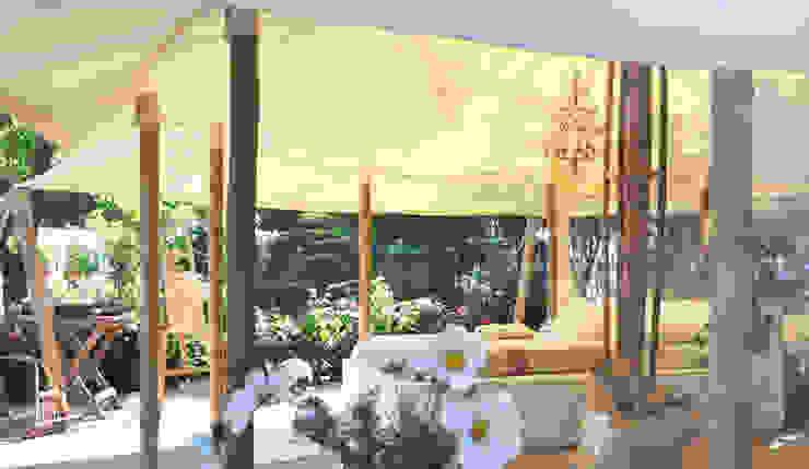 La petite tente bambou : 20m2 de bonheur au coeur de votre jardin ! par Marie de Saint Victor Éclectique