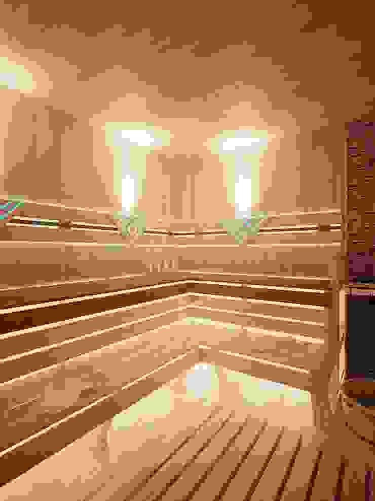 Spa Minimalis Oleh Студия дизайна интерьера 'Золотое сечение' Minimalis Kayu Wood effect