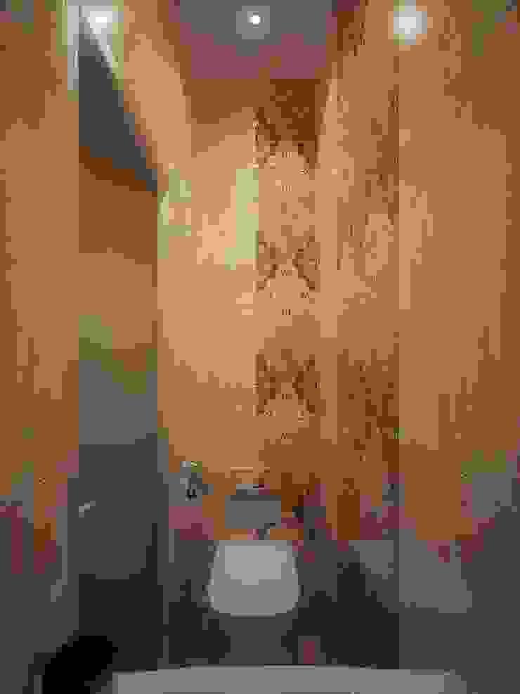 Kamar Mandi Minimalis Oleh Студия дизайна интерьера 'Золотое сечение' Minimalis Keramik