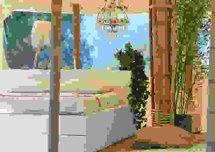 La petite tente bambou : 20m2 de Bonheur à planter dans son jardin ! Chambre originale par Marie de Saint Victor Éclectique