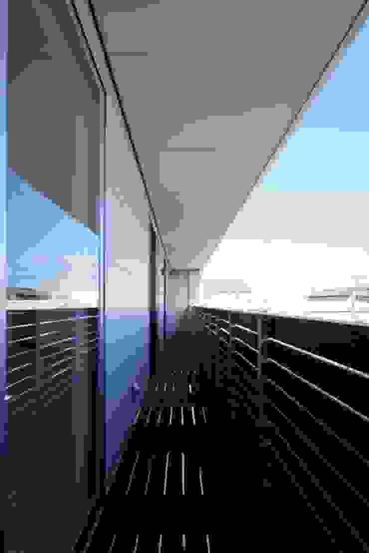 倉敷の家 モダンデザインの テラス の 有限会社アルキプラス建築事務所 モダン