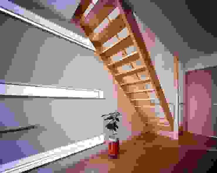 坂の南の家 モダンスタイルの 玄関&廊下&階段 の 有限会社アルキプラス建築事務所 モダン