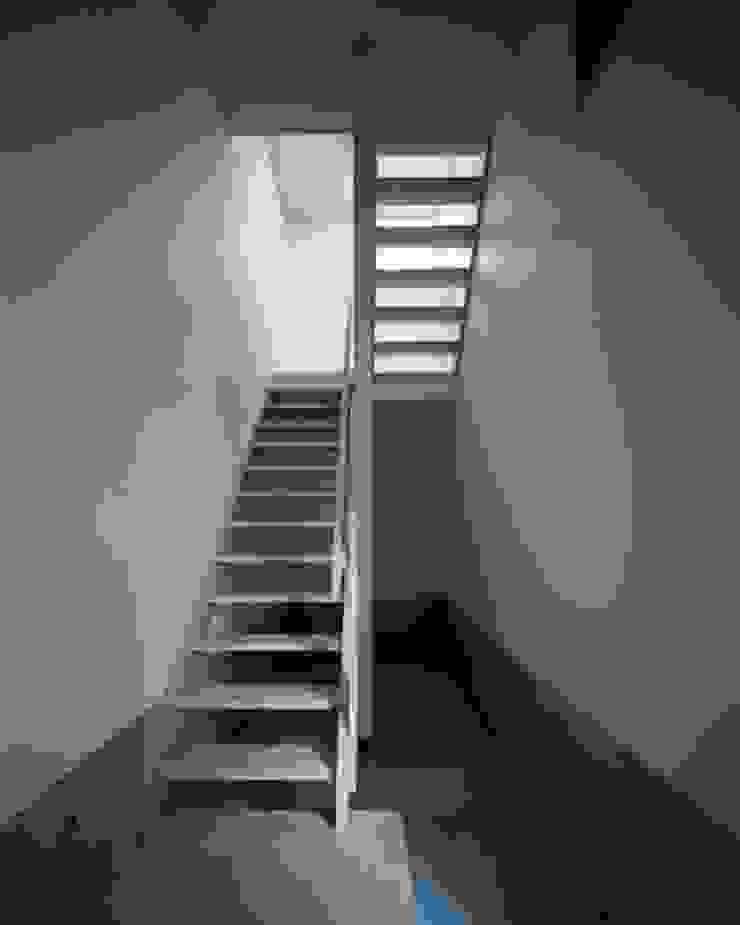 坂の下の家 モダンスタイルの 玄関&廊下&階段 の 有限会社アルキプラス建築事務所 モダン