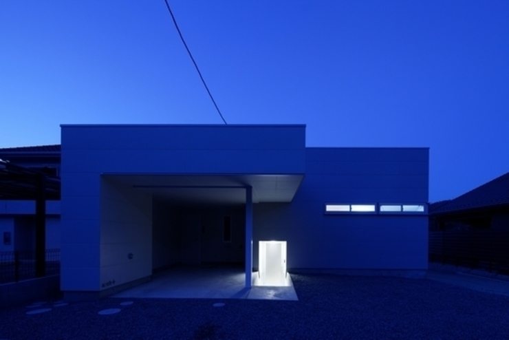 Дома в стиле модерн от 有限会社アルキプラス建築事務所 Модерн