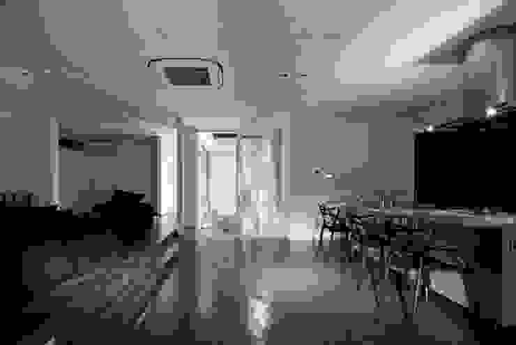有限会社アルキプラス建築事務所 Comedores de estilo moderno