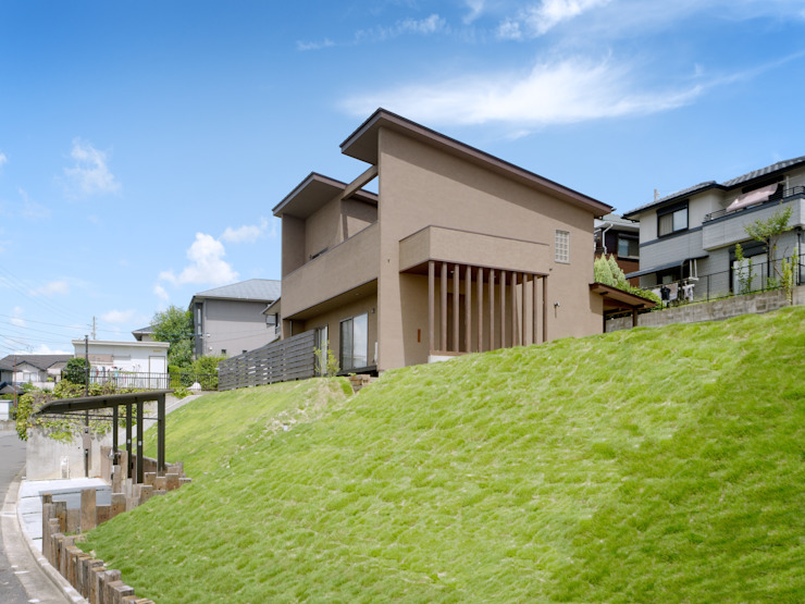東面外観 日本家屋・アジアの家 の KEN-空間設計 和風