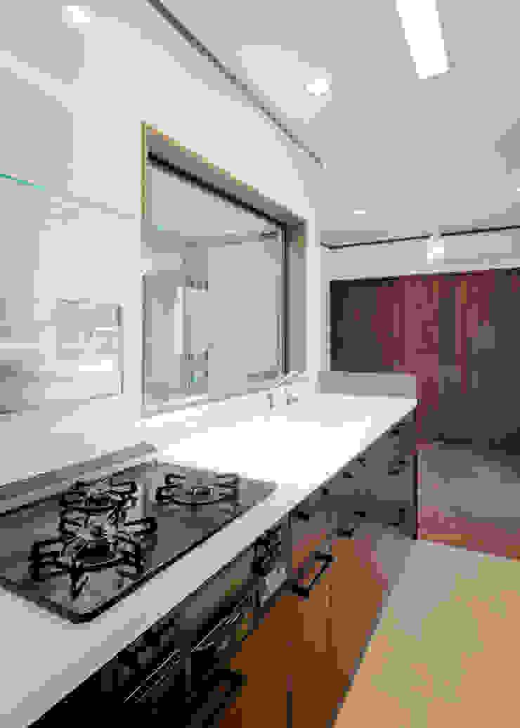 キッチン・ダイニング 和風デザインの ダイニング の KEN-空間設計 和風