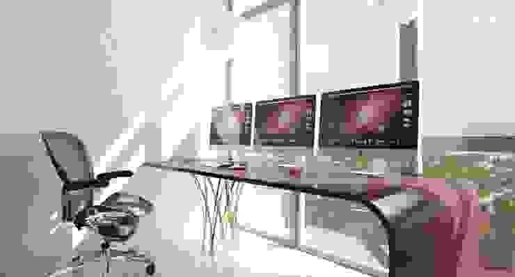 Minimalist Balkon, Veranda & Teras Студия дизайна интерьера 'Золотое сечение' Minimalist Cam