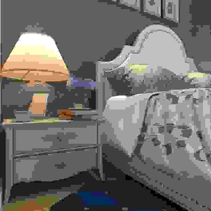 Guest bedroom Спальня в стиле кантри от Your royal design Кантри