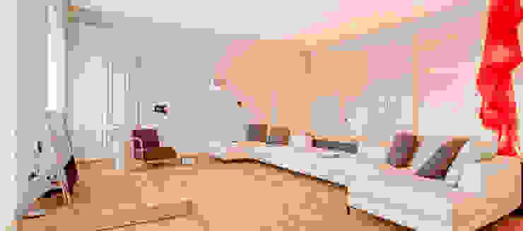 غرفة المعيشة تنفيذ Andrea Bella Concept, تبسيطي