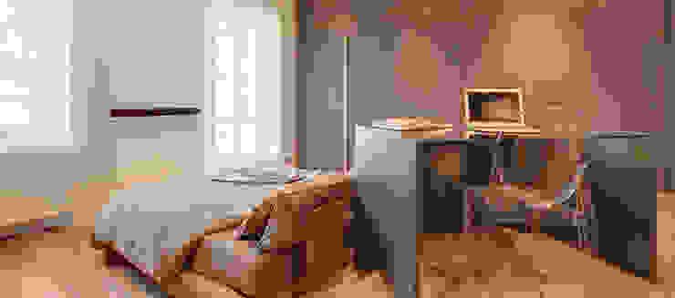Minimalist Yatak Odası Andrea Bella Concept Minimalist