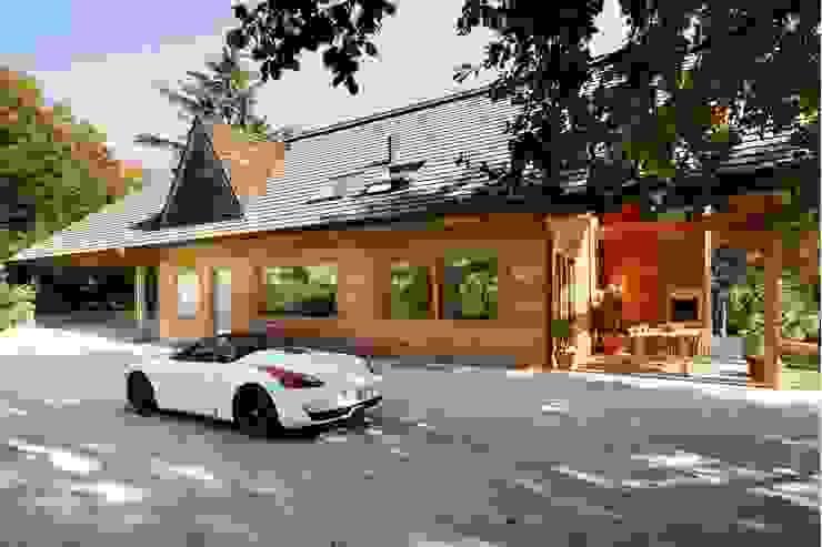 Casas modernas por alberico & giachetti architetti associati Moderno