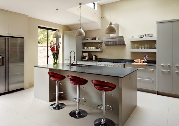 Linear kitchen by Harvey Jones Harvey Jones Kitchens Modern style kitchen
