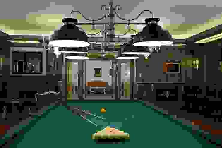 Загородная жизнь (дом 2000 кв.м.) Медиа комната в классическом стиле от Дизайн интерьера Проценко Андрея Классический