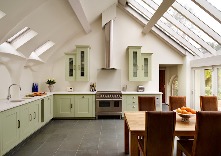 Shaker kitchen by Harvey Jones Cuisine moderne par Harvey Jones Kitchens Moderne