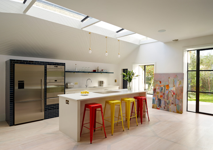 Shaker kitchen by Harvey Jones Cozinhas modernas por Harvey Jones Kitchens Moderno