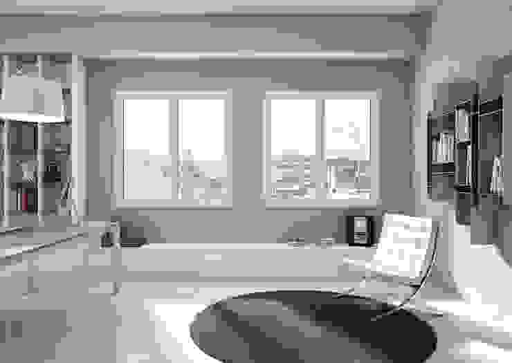 Oknoplast presenta la prima e unica finestra studiata per la ristrutturazione Oknoplast Finestre in PVC PVC Bianco