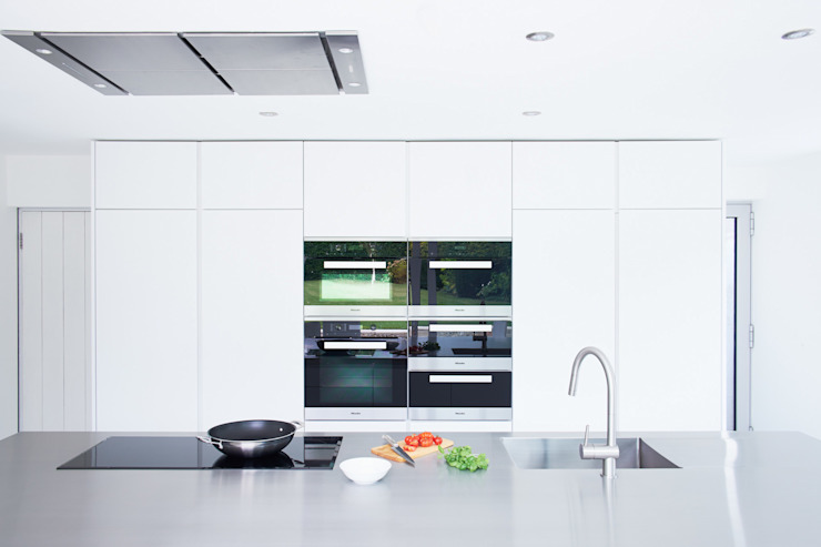 Bespoke Minimalist Kitchen By Luxmoore & Co Luxmoore & Co Kitchen