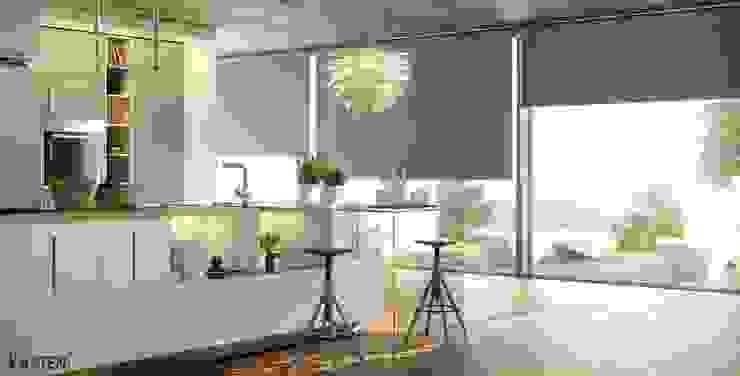 Modern Kitchen by Kaaten Modern