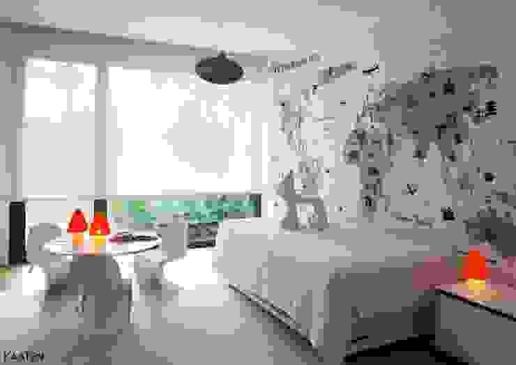 Minimalist bedroom by Kaaten Minimalist