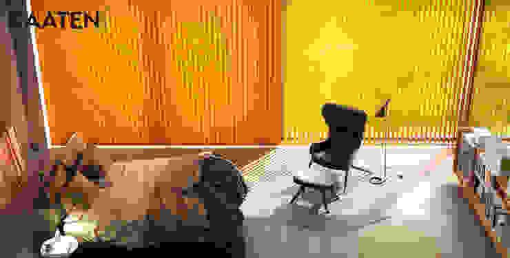 Cortina vertical para dormitorio - Kaaten Dormitorios de estilo minimalista de Kaaten Minimalista