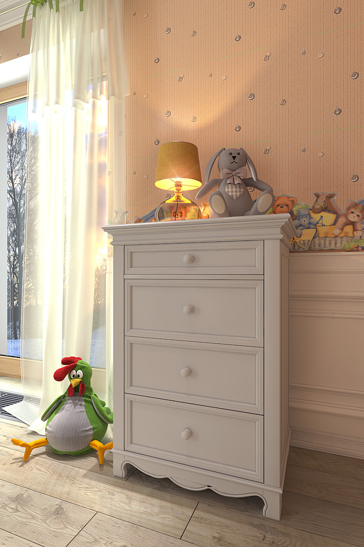 furniture IRFA Детская комнатa в стиле кантри от Your royal design Кантри