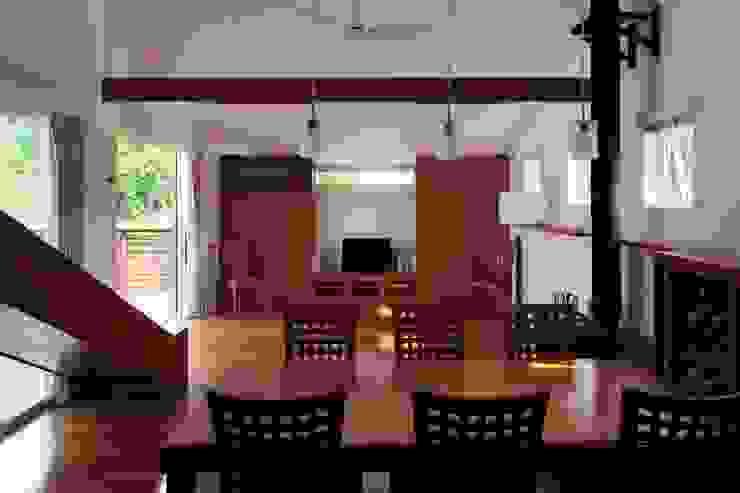 slide house 一級建築士事務所あとりえ Sala da pranzo moderna