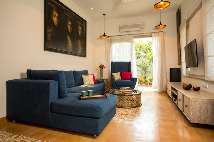 House in Pune: modern  by The Orange Lane,Modern