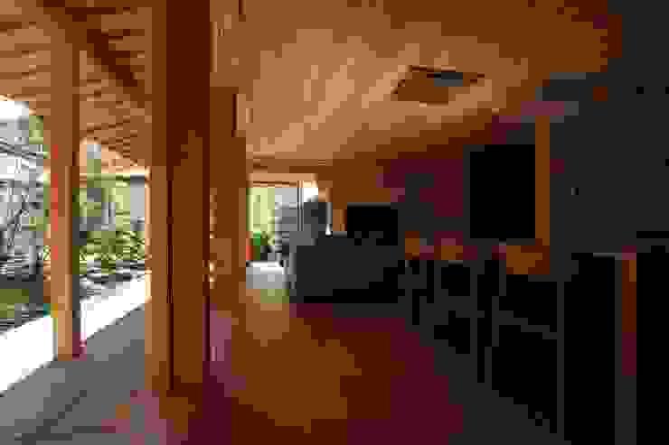 宝角建築アトリエ Asian style living room