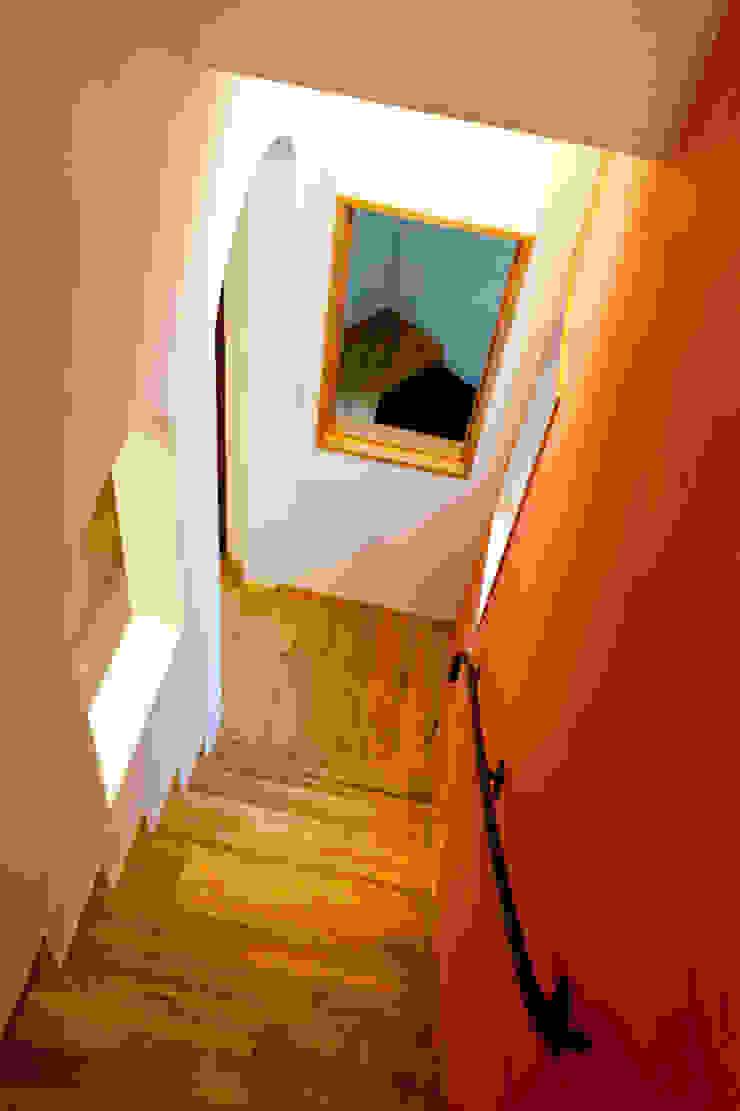 階段 地中海スタイル 玄関&廊下&階段 の アルキテク設計室 地中海
