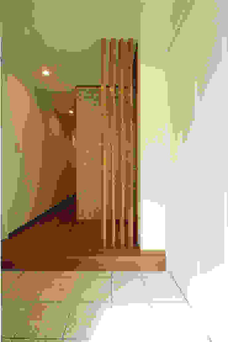 玄関ホール オリジナルスタイルの 玄関&廊下&階段 の 三浦喜世建築設計事務所 オリジナル