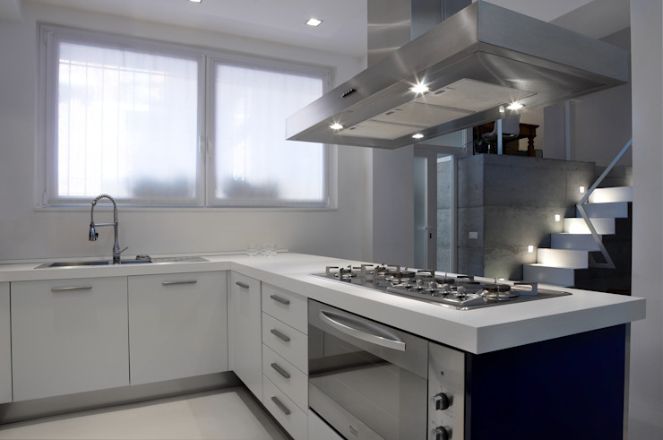 Cucine moderne da piccoli loft