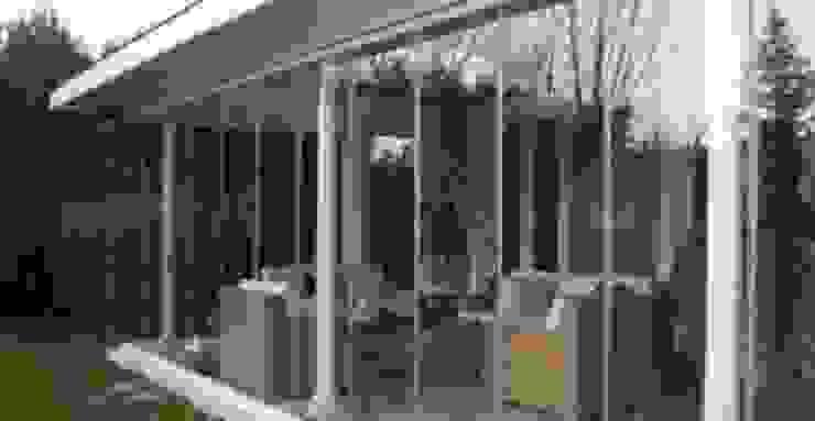 Kcc yapı dekarasyon – Kış Bahçesi cam balkon: modern tarz , Modern