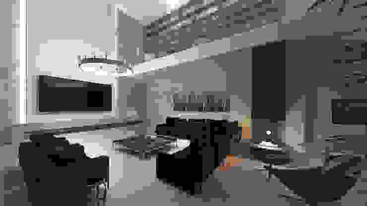 SE Konutu Modern Oturma Odası VEN MİMARLIK Modern
