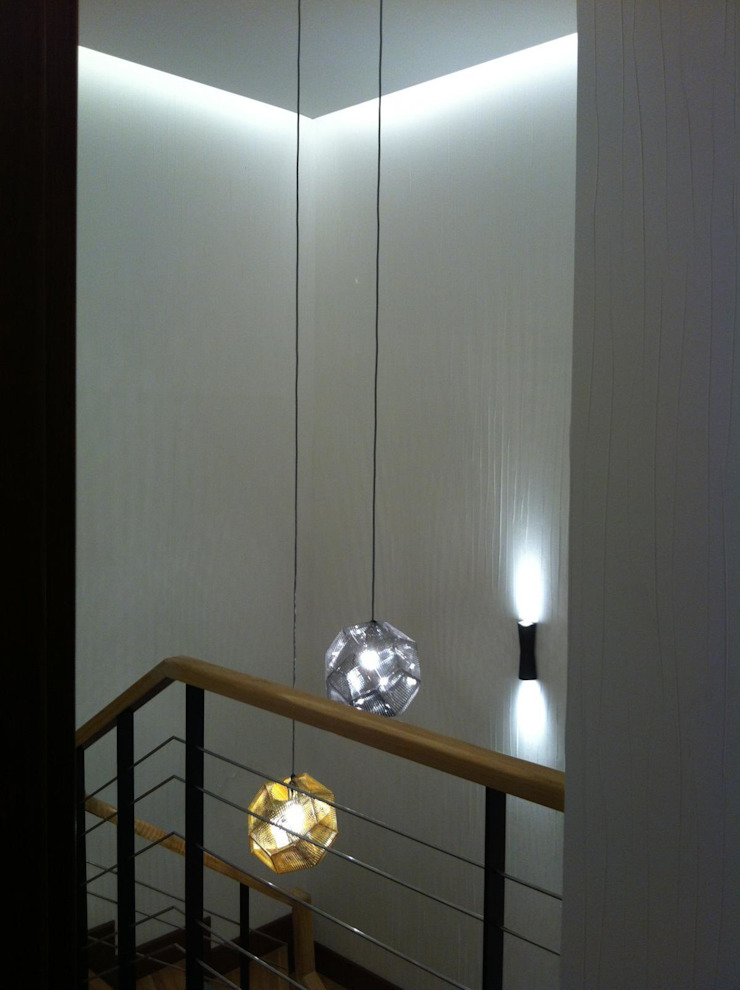 T Evi Modern Koridor, Hol & Merdivenler VEN MİMARLIK Modern