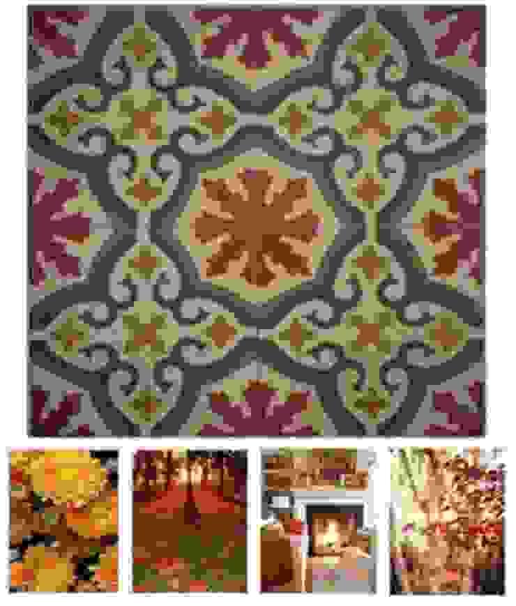 Ejemplos de nuestras baldosas Paredes y suelos de estilo clásico de Suelos Hidráulicos Demosaica Clásico