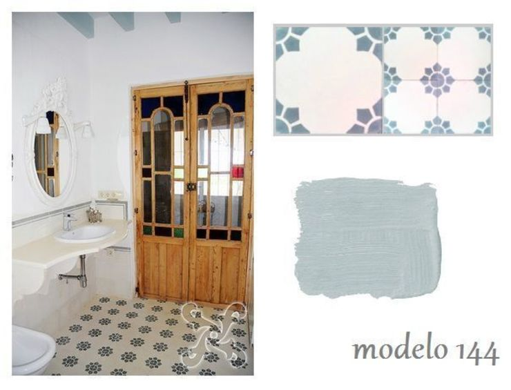 Suelos Hidráulicos Demosaica Classic style bathroom