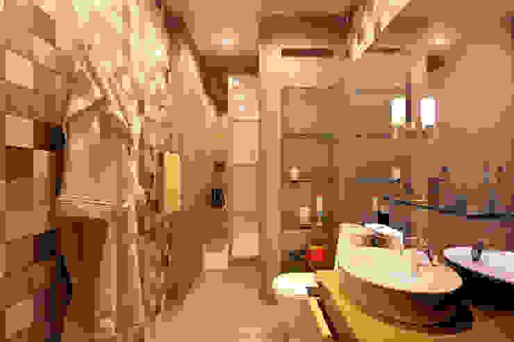 Квартира в ЖК «Ленсоветовский» Ванная комната в стиле минимализм от Geometrium Минимализм