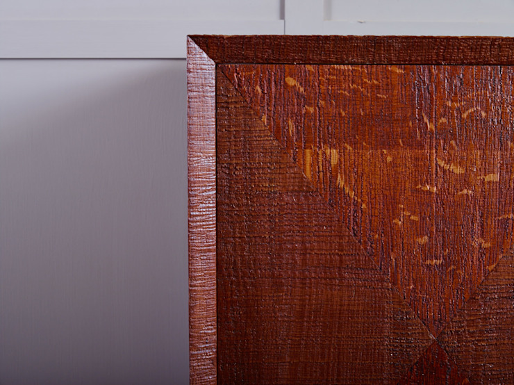 Diamond pattern door cabinet: eclectic  by muto, Eclectic