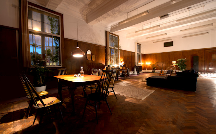 The Function Suite, London Industrial style dining room by antonygibbondesigns Industrial