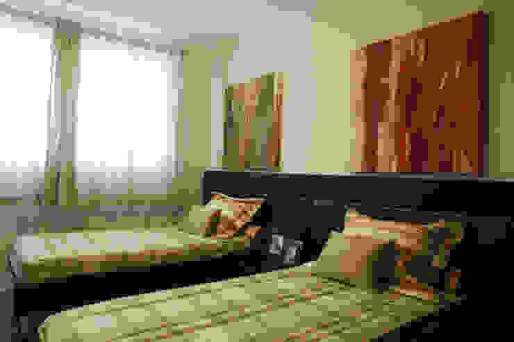 Projeto arquitetônico do apartamento decorado Platanos Quarto infantil eclético por ArchDesign STUDIO Eclético