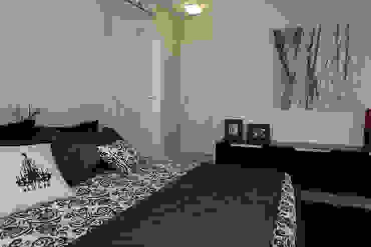 Projeto arquitetônico do apartamento decorado Platanos Quartos ecléticos por ArchDesign STUDIO Eclético