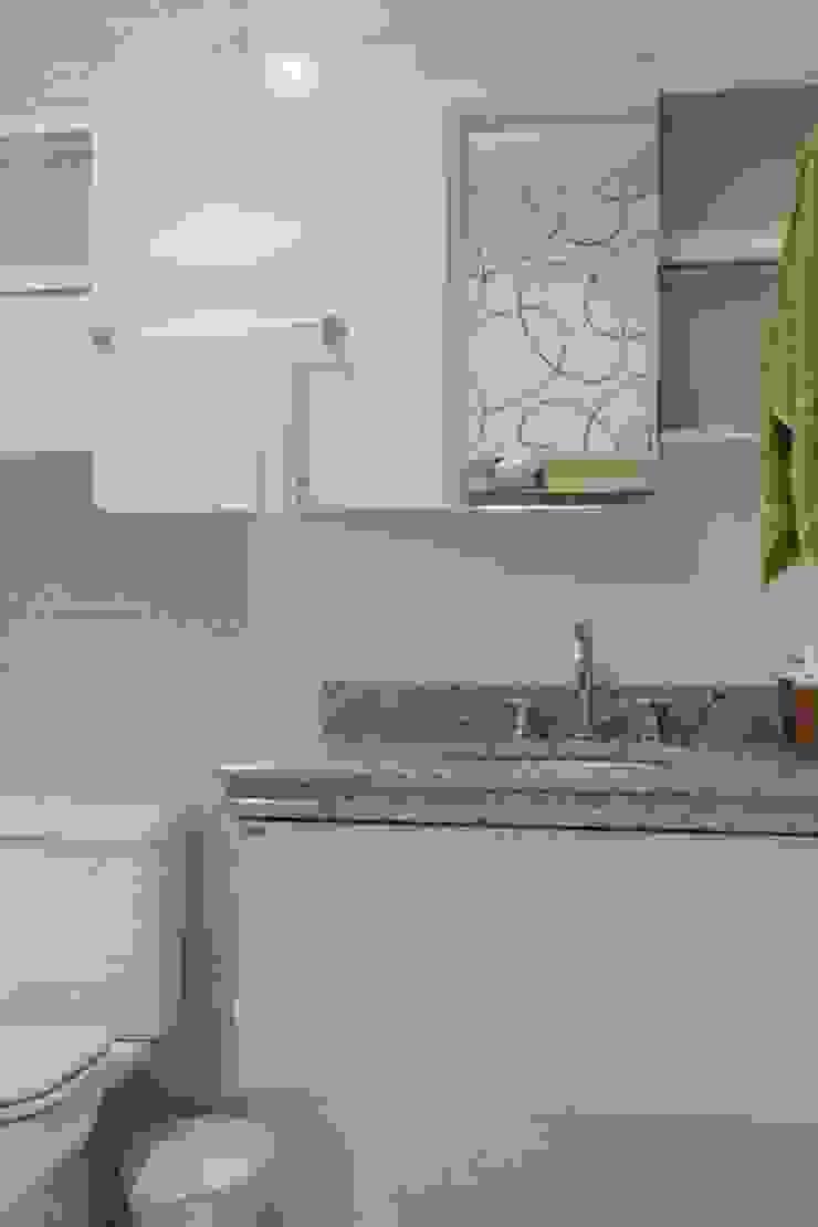 Projeto arquitetônico do apartamento decorado do Porto Atlantico. Banheiros ecléticos por ArchDesign STUDIO Eclético