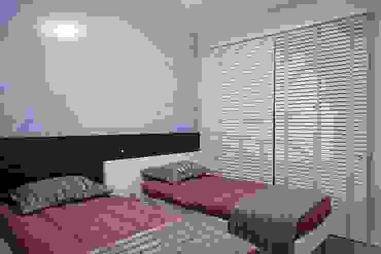 Projeto arquitetônico do apartamento decorado do Porto Atlantico. Quarto infantil eclético por ArchDesign STUDIO Eclético