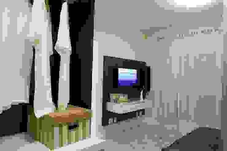 Projeto arquitetônico do apartamento decorado do Porto Atlantico. Quartos ecléticos por ArchDesign STUDIO Eclético