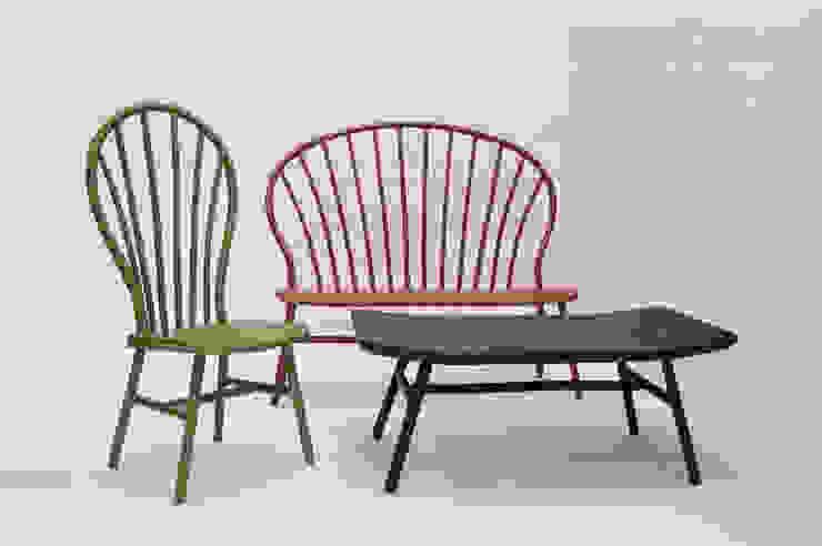 Bamboo Windsor series: modern  door Bo Reudler Studio, Modern