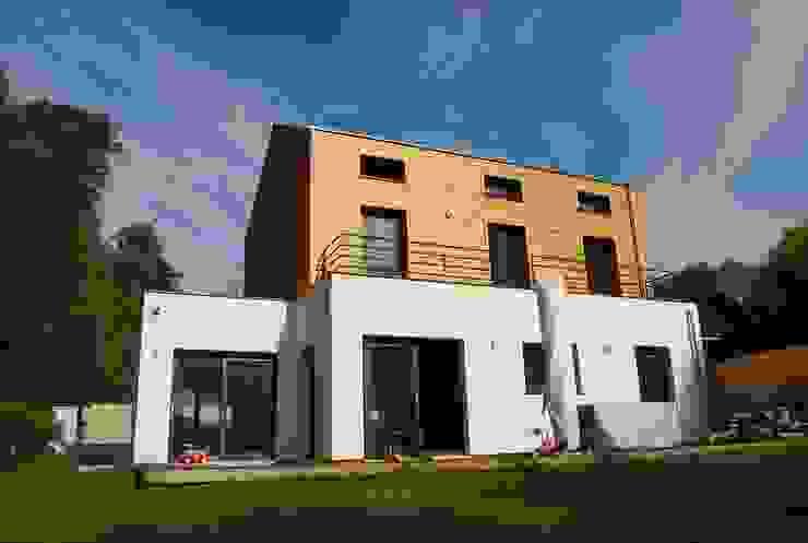 façade sud Maisons modernes par SARA Architecture Moderne